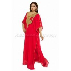 DUBAI MODERN BRIDAL CASUAL FARASHA DRESS