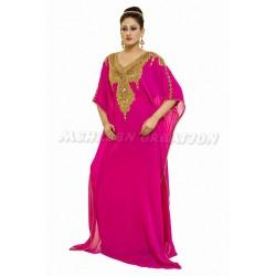 Pink Casual Maxi African Farasha Party wear Dress