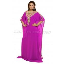 Pink Modern Arabic Elegant Farasha Wear