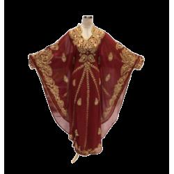MODERN ARABIC KAFTAN FARASHA PARTY WEAR DRESS
