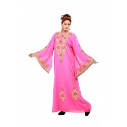 Dubai Modern Arabic Khaleeji Thobe Kaftan Dress