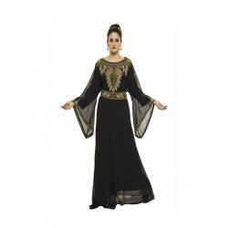 EXCLUSIVE MODERN TAKSHITA BLACK DRESS